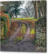 Gateway To Autumn Canvas Print