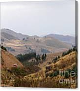 Gateway To The Bolivian Desert Canvas Print
