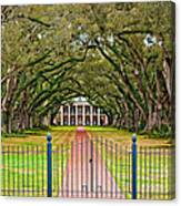 Gateway To The Old South Canvas Print