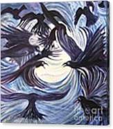 Gathering Of The Ravens Canvas Print