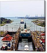 Gatun Locks Panama Canal Canvas Print