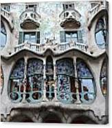 Gaudi Architecture 3 Barcelona Spain Canvas Print