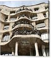 Gaudi Architecture Barcelona Spain Canvas Print