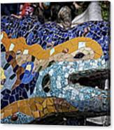 Gaudi Dragon Canvas Print