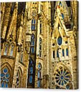 Gaudi - Sagrada Familia Canvas Print