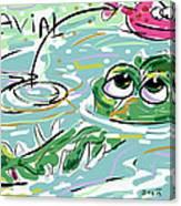 Gavial Canvas Print