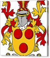 Gavin Coat Of Arms Irish Canvas Print