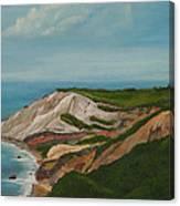 Gay Head Cliffs Canvas Print