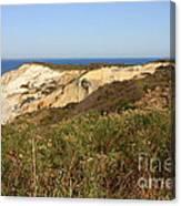 Gay Head Lighthouse With Aquinnah Beach Cliffs Canvas Print