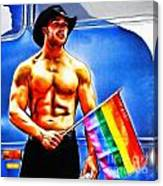 Gay Pride Canvas Print
