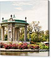 Gazebo At Forest Park St Louis Mo Canvas Print