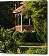 Gazebo In The Park   Canvas Print