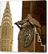 General Electric Building 1 Canvas Print