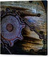 Gear And Chain Canvas Print