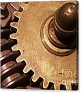 Gear Wheels Canvas Print