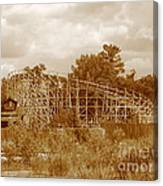 Geauga Lake 2  Canvas Print