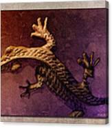 Gecko Dance 2 Canvas Print