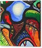 Gedachten Gangen  Canvas Print