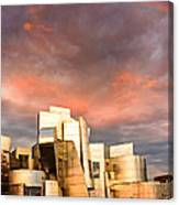 Gehry Rainbow Canvas Print