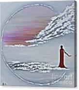 Geisha 2 Canvas Print