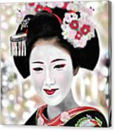 Geisha No.168 Canvas Print