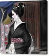 Geisha No.4 Canvas Print