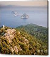 Gelidonia Headland At Sunset 2 Canvas Print