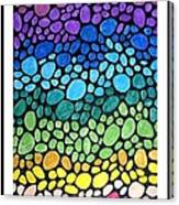 Gem Stones Canvas Print