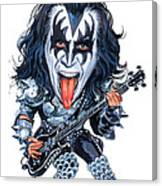 Gene Simmons Canvas Print