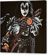 Gene Simmons Of Kiss Canvas Print