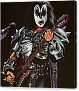 Gene Simmons Of Kiss Canvas Print