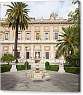 General Archive Of The Indies In Seville Canvas Print