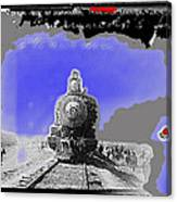 General Benjamin Argumedo's  Troop Train Unknown Mexico Location Or Date-2013 Canvas Print