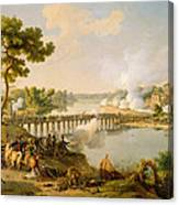 General Bonaparte Giving Orders At The Battle Of Lodi Canvas Print