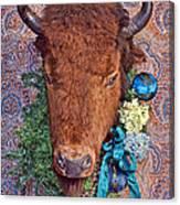 General Crook's Bison Canvas Print