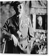 General Douglas Macarthur, Ca. 1940. He Canvas Print