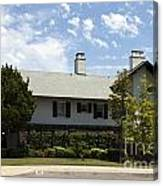 General George S Patton Family Home Canvas Print