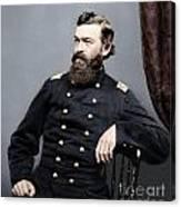 General James S Robinson Canvas Print