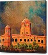General Post Office Lahore Canvas Print