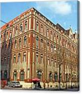 General Post Office Zagreb Canvas Print