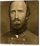 General Stonewall Jackson 1871 Canvas Print