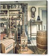 General Store - 19th Century Seaport Village Canvas Print