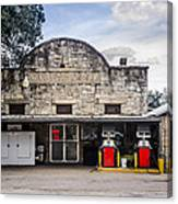 General Store In Independence Texas Canvas Print