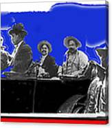 Generals Fierro And Villa Riding In Car #2 No Known Location Or Date-2013 Canvas Print