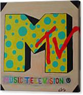 Generation Mtv Canvas Print