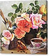 Generous Blooming Canvas Print