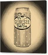 Genesee Bock Beer Canvas Print