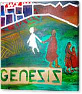 Genesis  By Janelle Dey Canvas Print