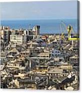 Genova. Panoramic View Canvas Print