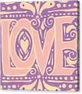 Gentel Love  Canvas Print